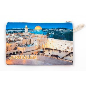 Western Wall Dome of the Rock Cloth Purse