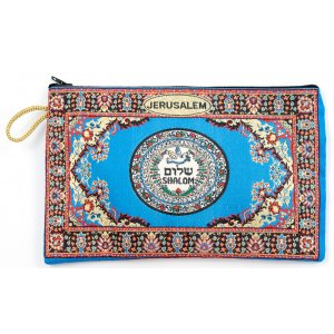 Oriental Shalom Dove Embroidered Cloth Purse