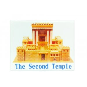 Temple in Jerusalem Ceramic Magnet
