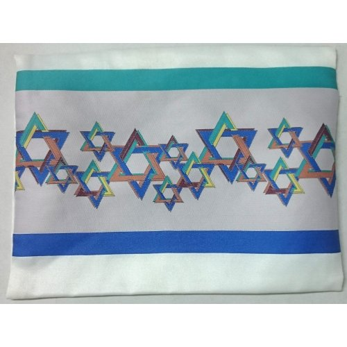 Stars of David Prayer Shawl Bag